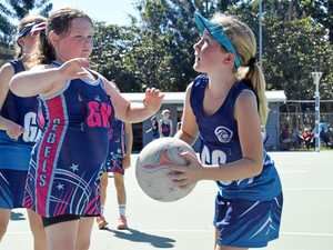 GALLERY: 144 junior netballers hit the courts in Gympie
