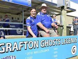 Ghosts legends and stalwarts honoured at local derby