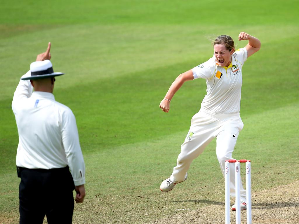 Sophie Molineux wants more nations to play Test cricket. Picture: Alex Davidson/Getty Images