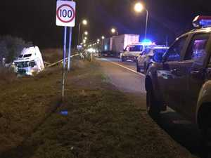 Man dies in Bruce Highway crash