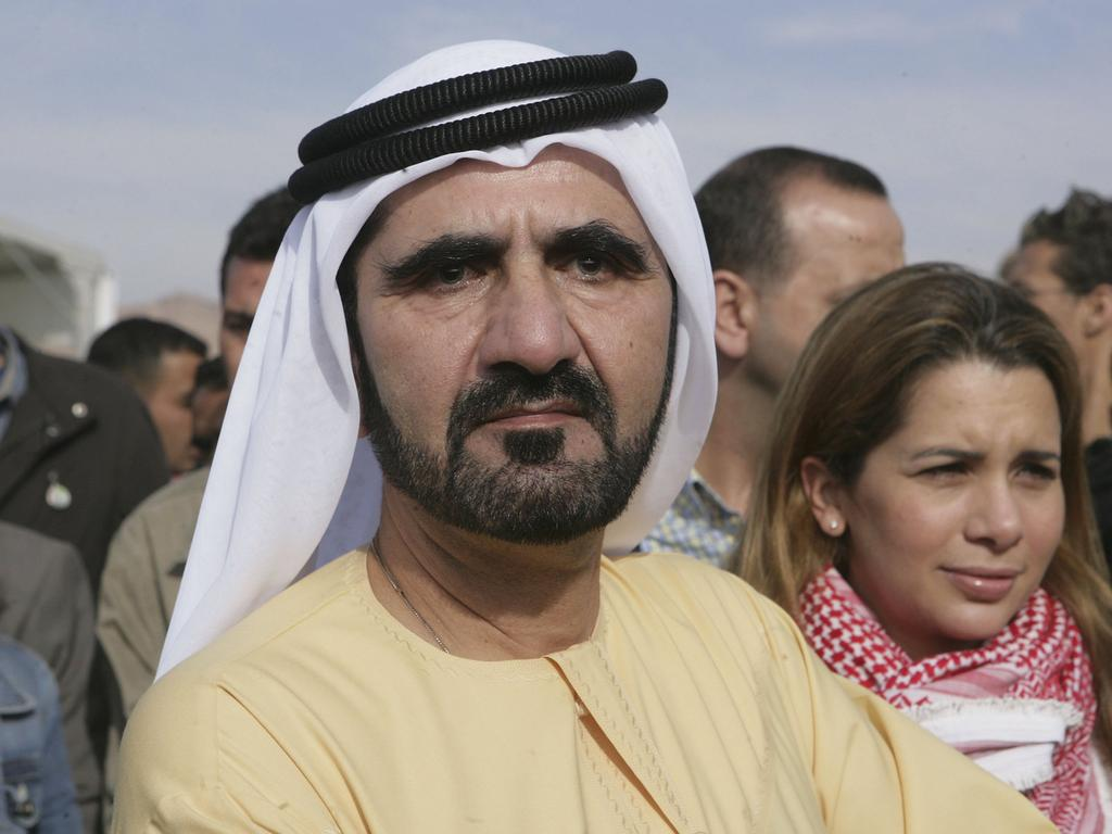 Dubai's Sheikh Mohammed bin Rashid al-Maktoum and his wife Princess Haya in 2006 at the International Endurance Race in Jordan. Picture: Salah Malkawi.