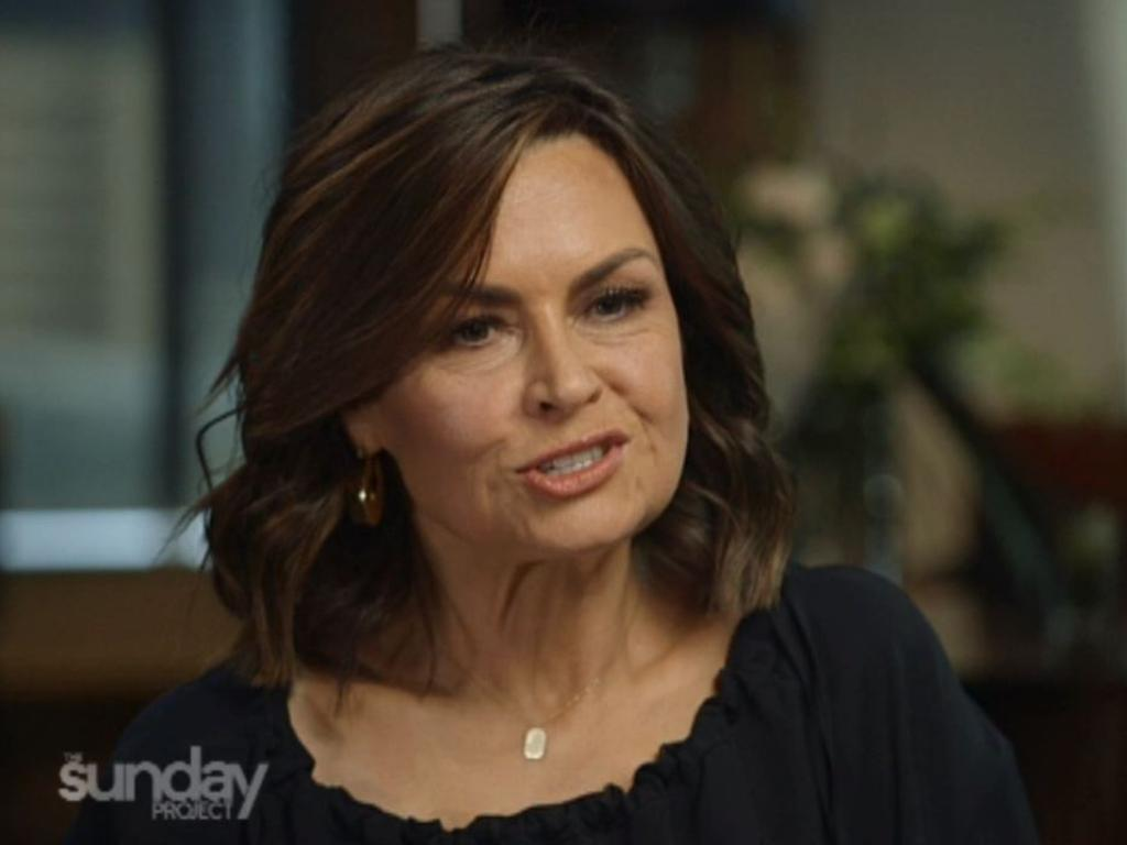 Lisa Wilkinson wastes no time asking NZ PM Jacinda Ardern the tough questions. Picture: Channel 10