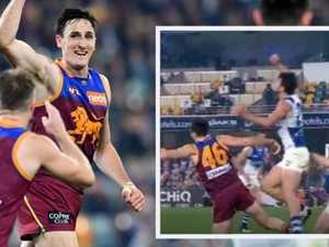 AFL issues verdict on Lions' free kick howler