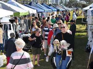 People enjoying the Sunshine Coast Collective Markets