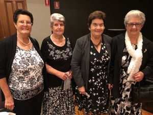 Bev Oustin, Janice Hoare, Thelma Pritchard and Betty
