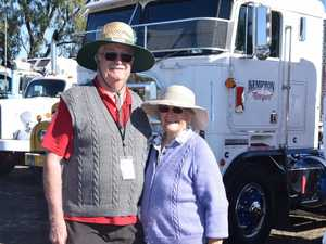 Bob and Marion Hudson travel from Rockhampton every