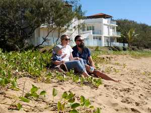 Boston, Carolyn and Shane Booth at Archies Beach