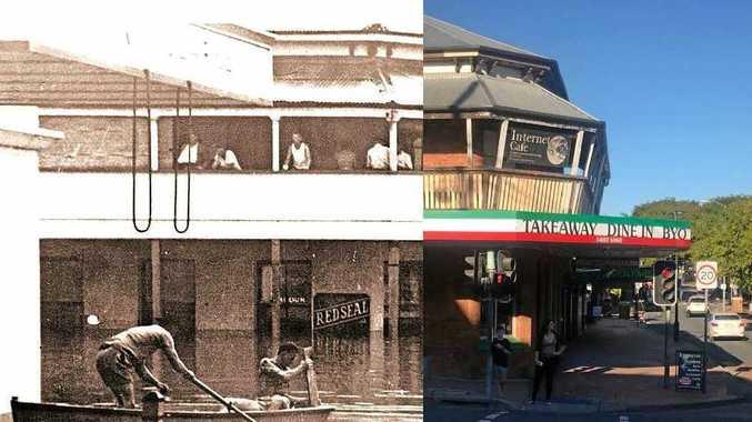 Historic Gympie scenes recreated 100 years apart