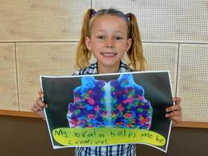 Year 1 student takes top prize for brainy artwork