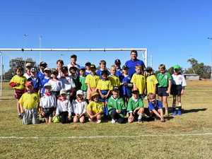 Country youngsters tackling the world game