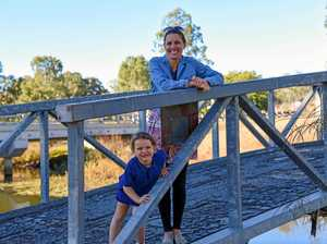 Bridge announcement for town divided in two