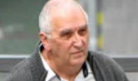 Former Brisbane teacher Peter Matthew Malone arrives at the District Court in Brisbane.