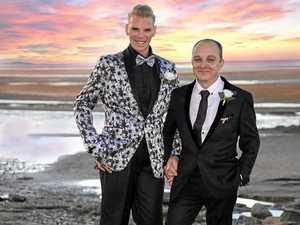 Grooms celebrate decades of love in Bay ceremony