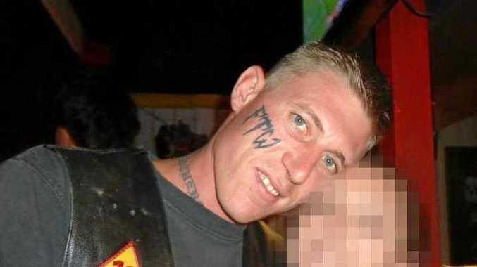 Tattooed druggie hides $70,000 of meth in washing machine