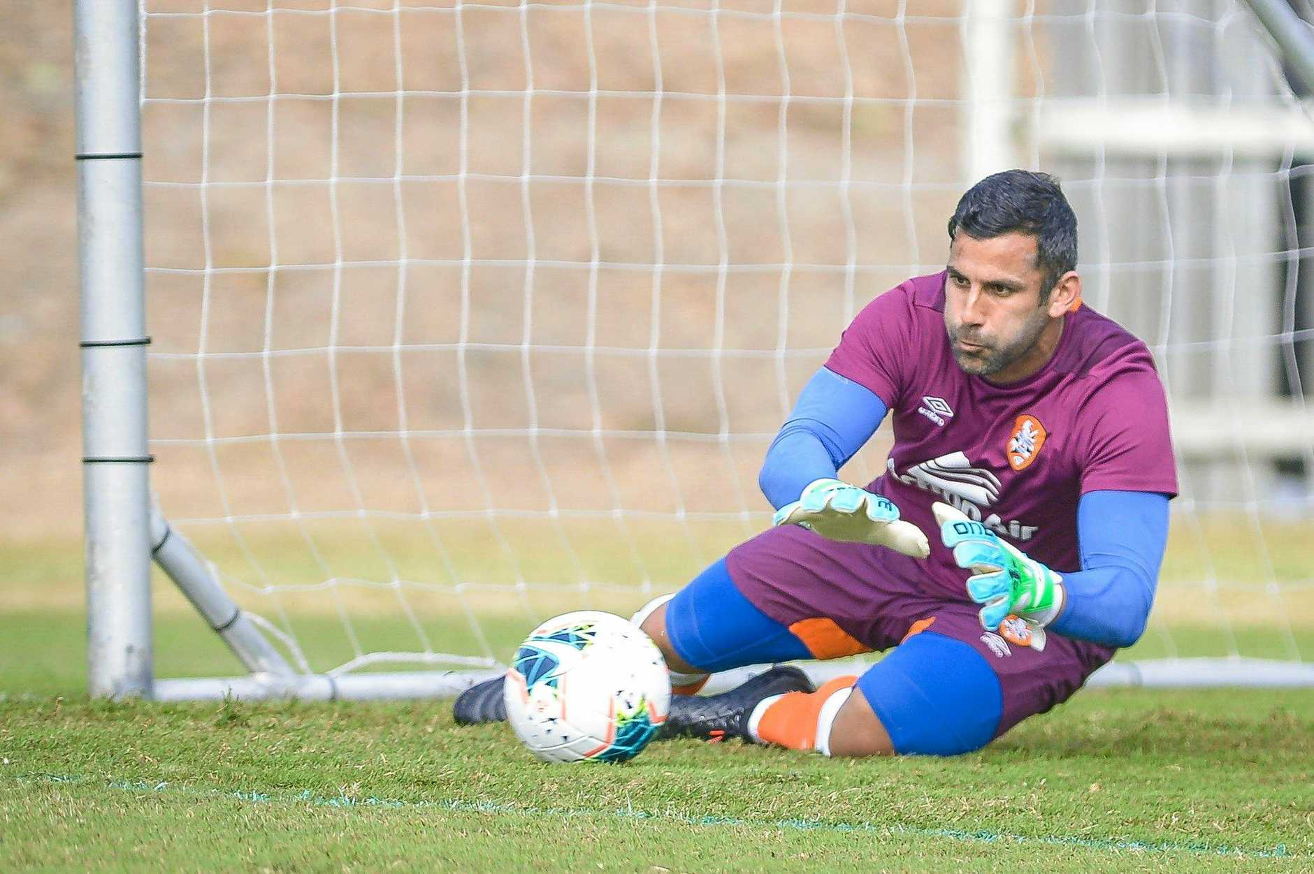 PERFECT PRE-SEASON: Jamie Young hopes for another clean sheet on Saturday.