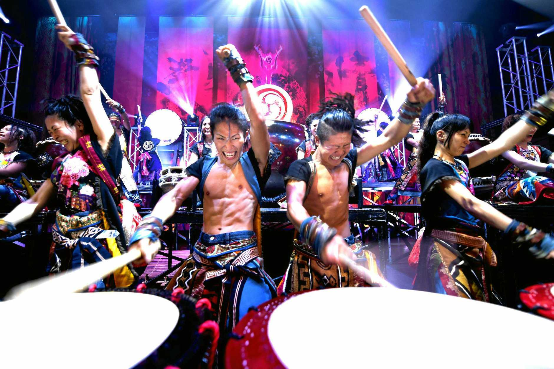 THUNDEROUS BEAT: Venue 114 will host an exclusive, world class drumming event, Yamato, on Sunday August 18.
