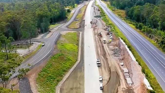 FLYOVER: Take a look at latest section of highway