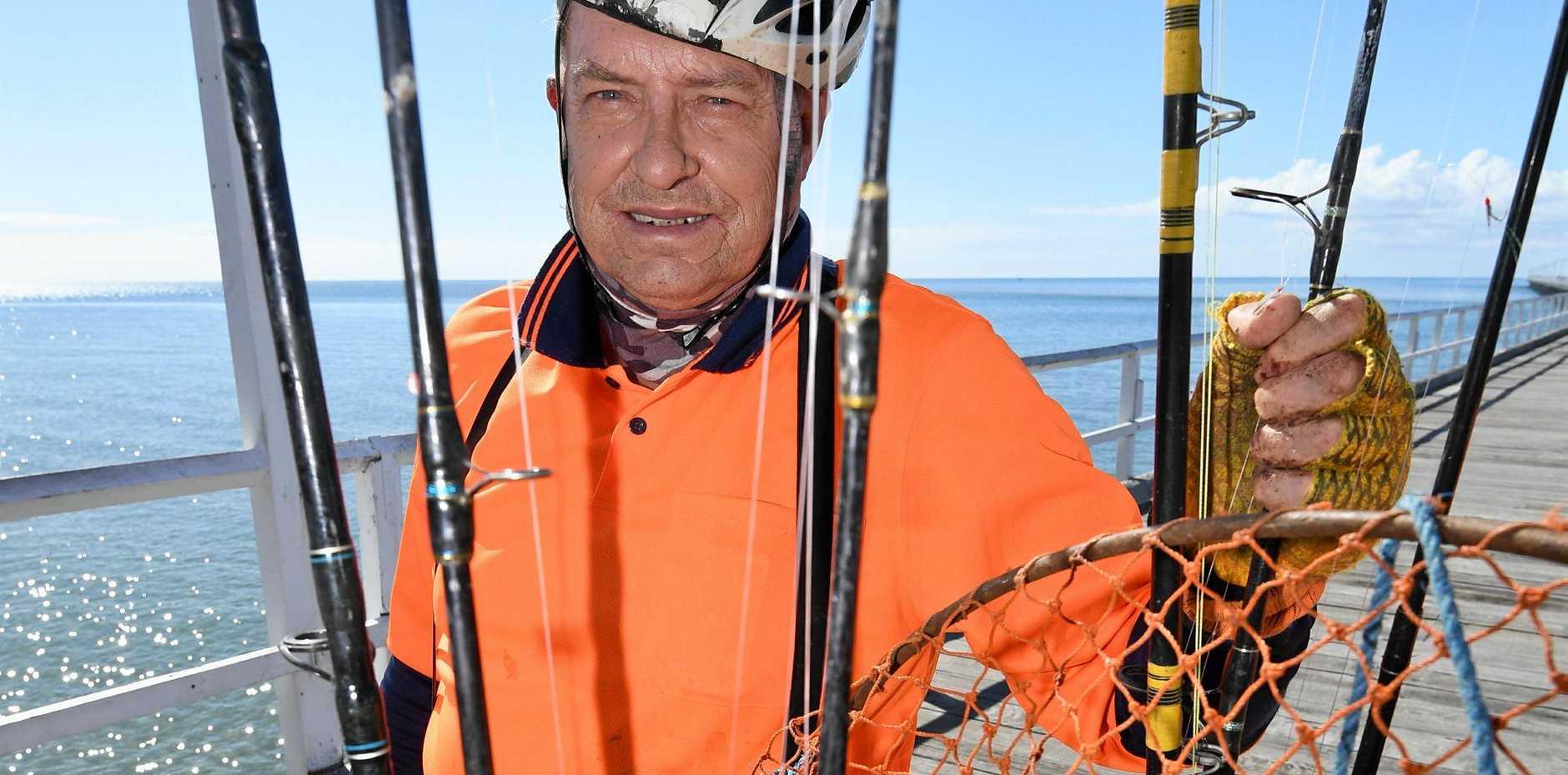 CHANGES WELCOME: Urangan Rod Hire owner Colin Mathieson on Urangan Pier.