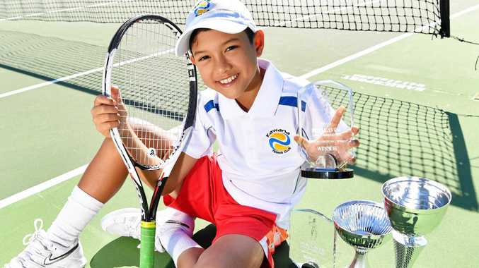 Junior tennis star continues to carve out a bright future
