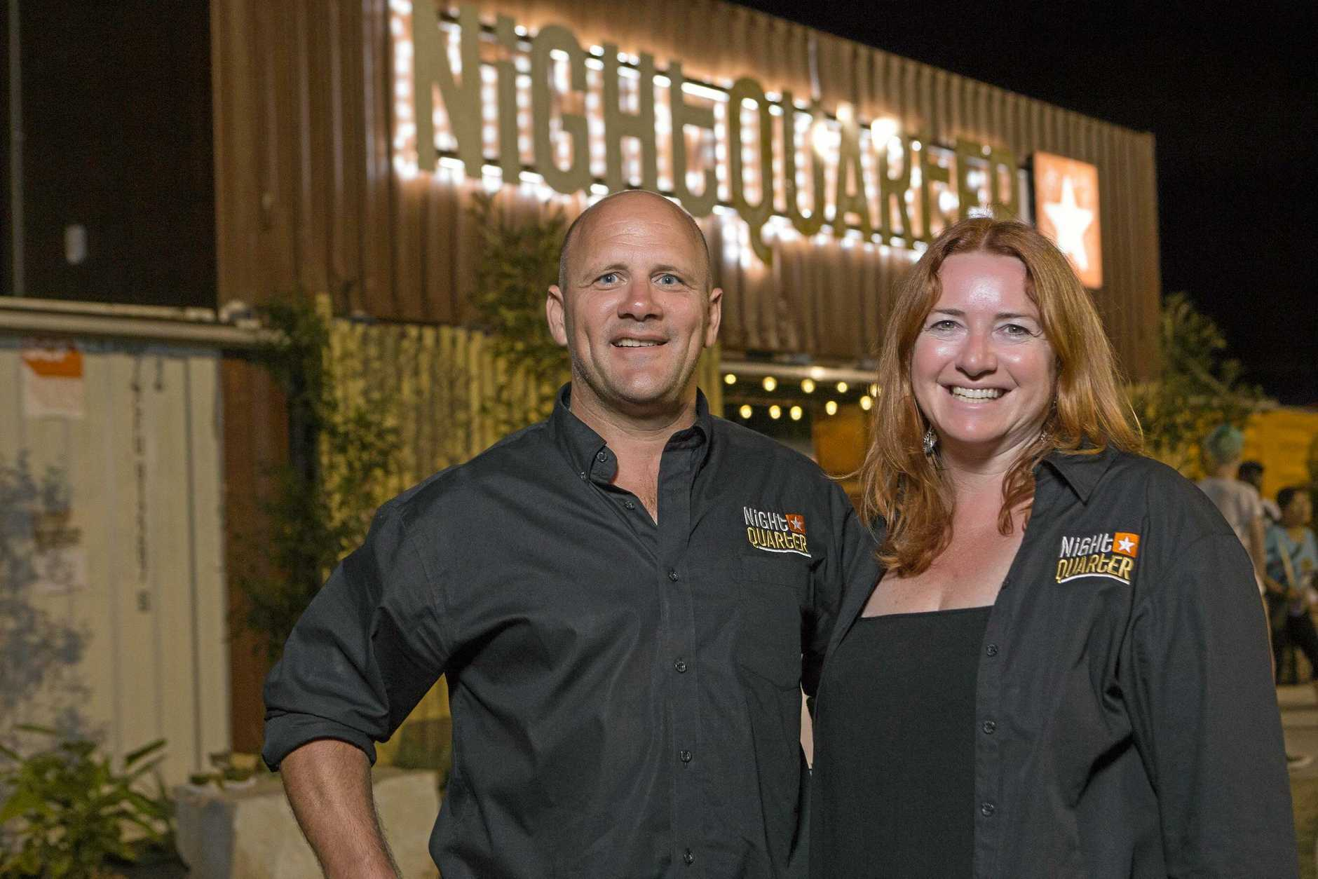 BIG MOVE: NightQuarter owners Ian Van der Woude and Michelle Christoe are moving to the Sunshine Coast.