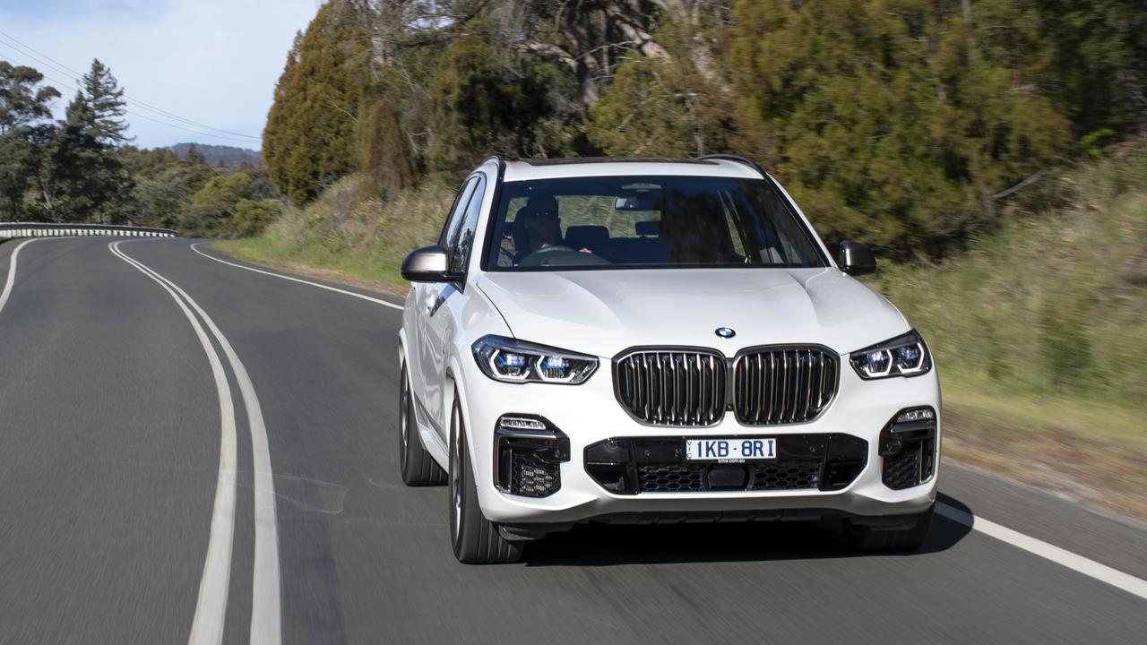 BMW's X5 was the most expensive non-electric car analysed.
