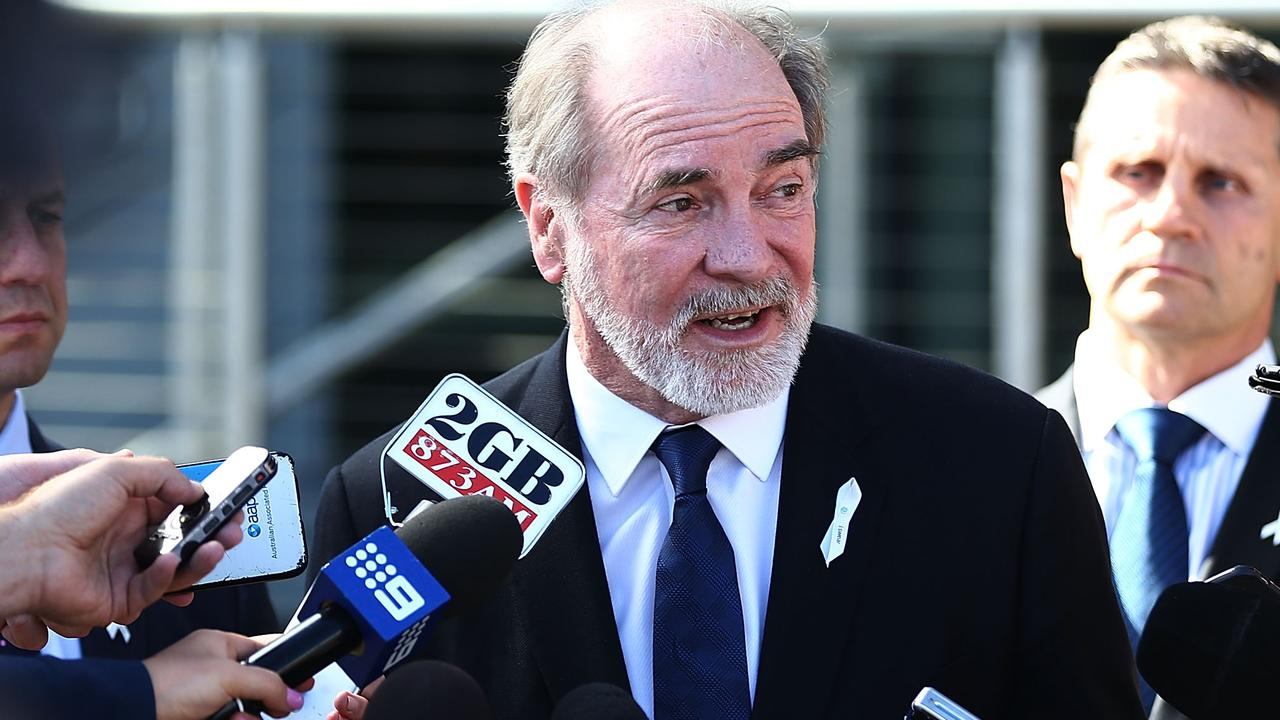 The Sydney media wouldn't have been as forgiving of former ARL chairman John Grant as they are of Mark Coyne, says Robert Craddock. Picture: Mark Metcalfe/Getty Images