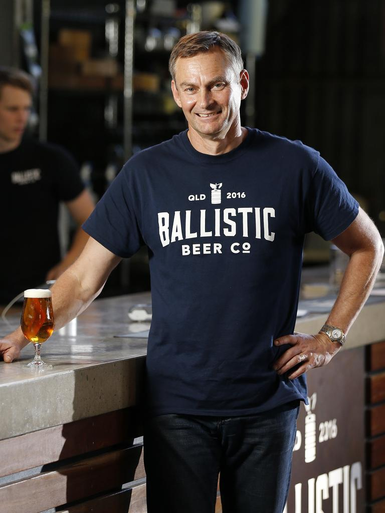 David Kitchen at Ballistic Brewing. (AAP Image/Josh Woning)