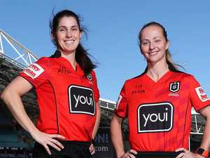NRL gives backing to all-women referee duo