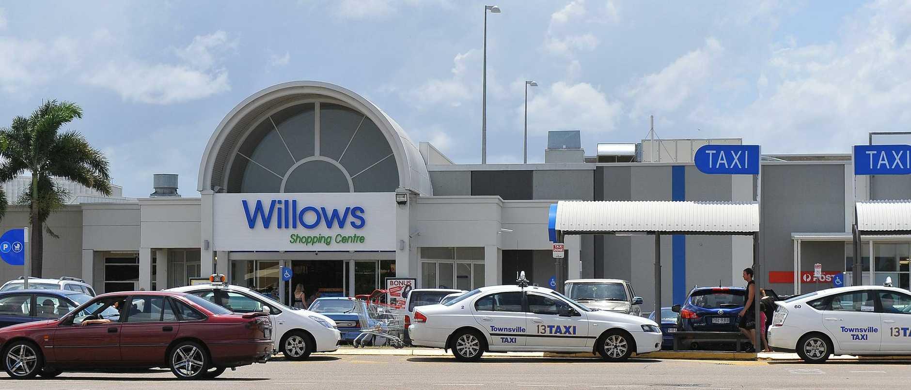 Willows shopping centre.
