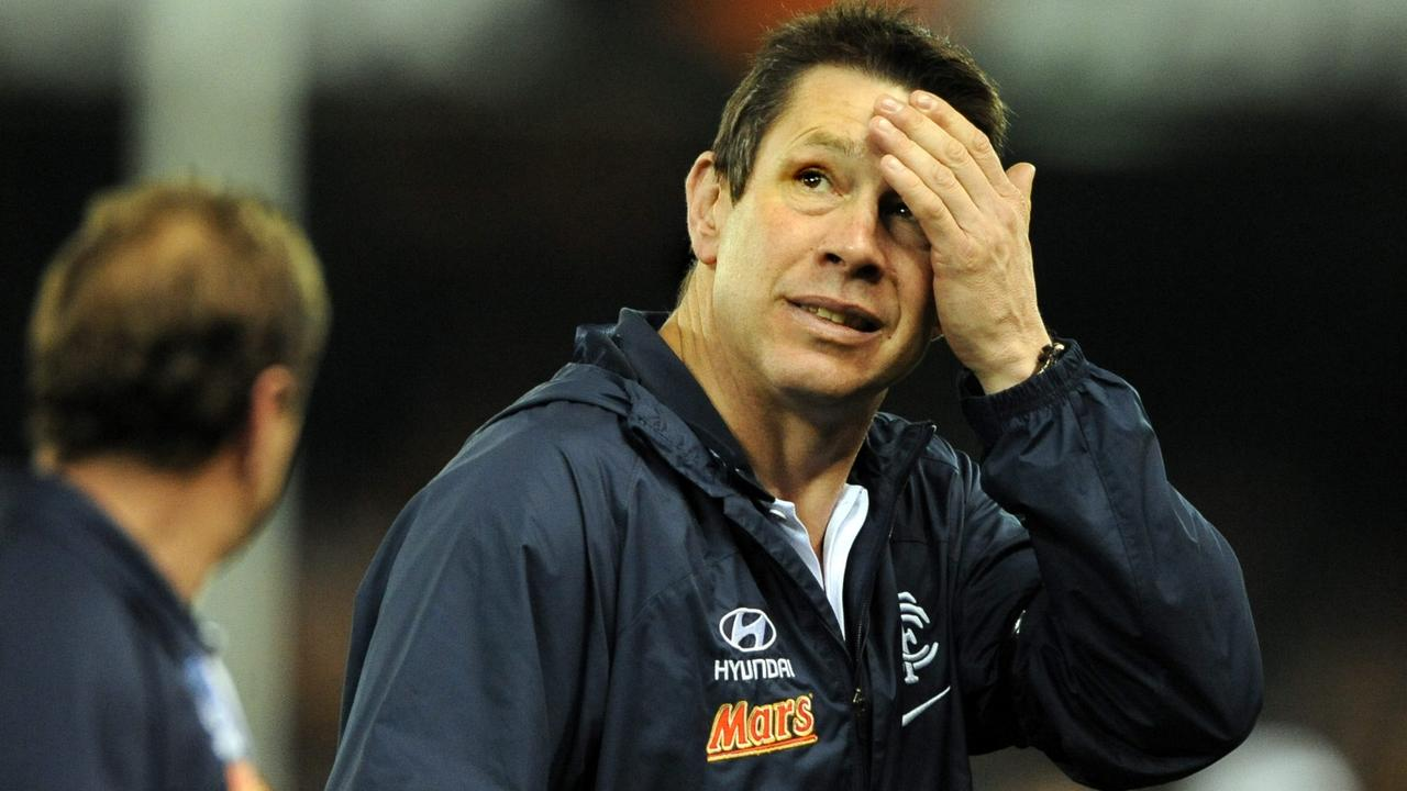 Brett Ratten was sacked by the Blues at the end of 2012.