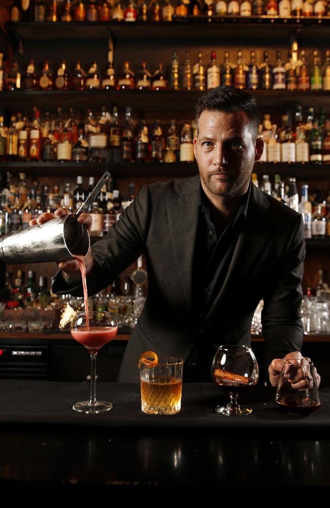 Martin Lange's Death & Taxes has won bar of the year. (AAP Image/Josh Woning)