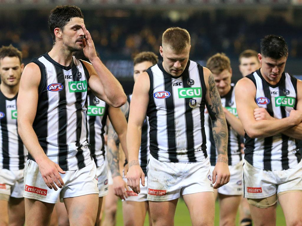 Collingwood has been bitten by the curse.