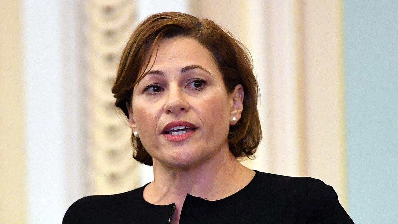 Deputy Premier Jackie Trad is embroiled in an integrity crisis. Picture: AAP/Dan Peled