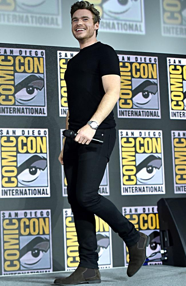 Richard Madden is officially joining the Marvel Cinematic Universe, headlining in The Eternals. Picture: Alberto E. Rodriguez/Getty Images for Disney