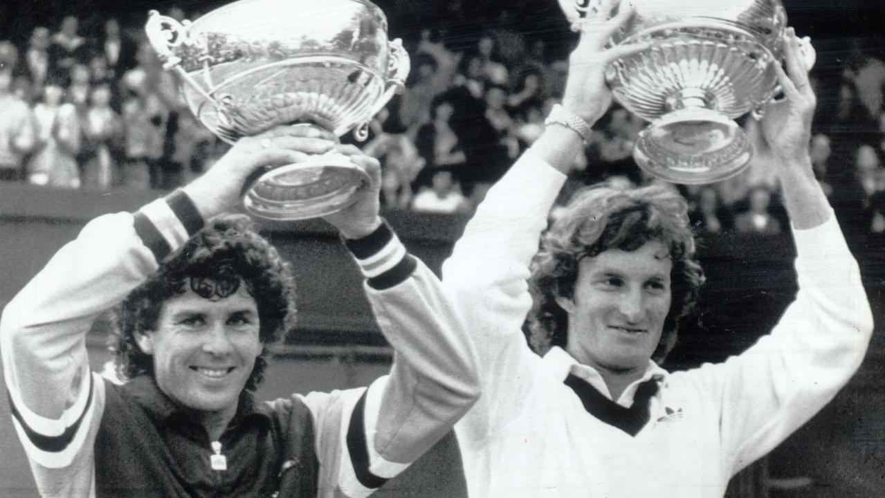 Paul McNamee and Peter McNamara twice won the Wimbledon doubles title.