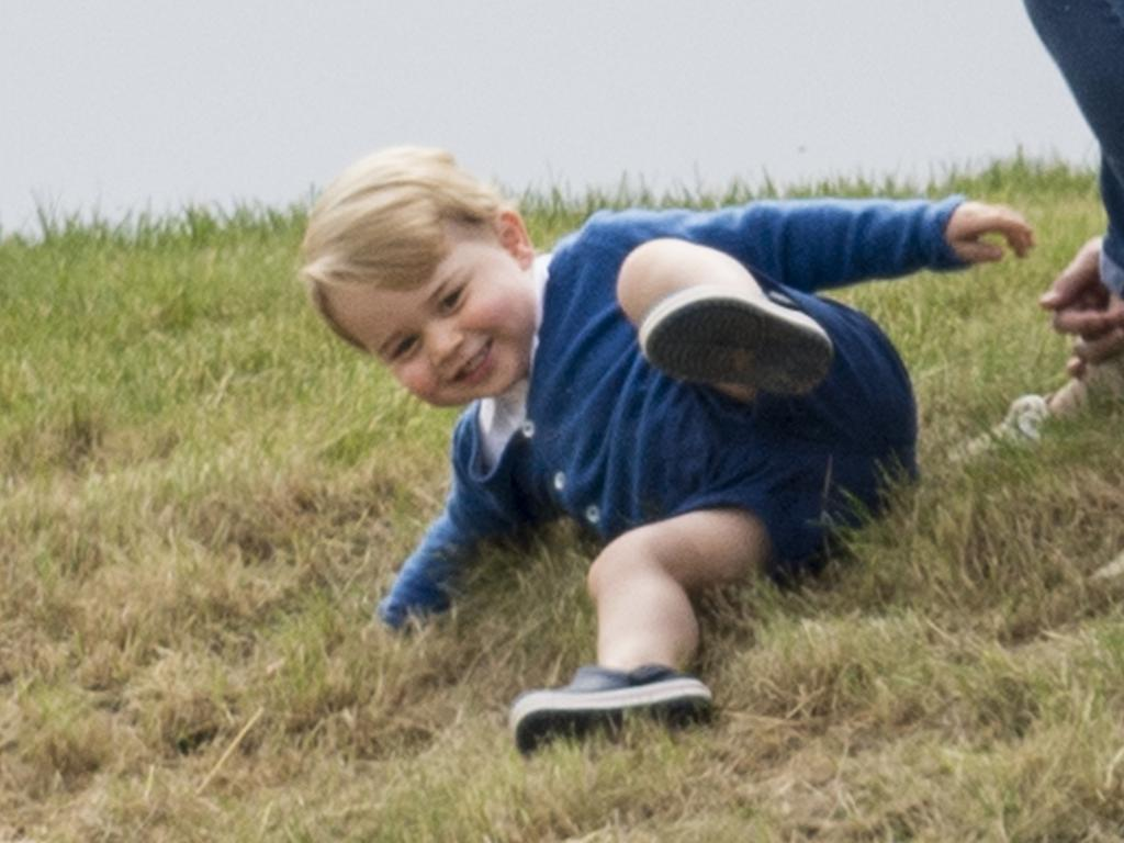 William and Kate have said they want George to have a fun childhood. Picture: Getty Images