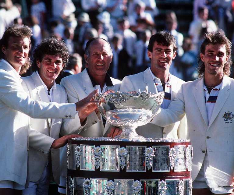 A tribute to Australian tennis legends