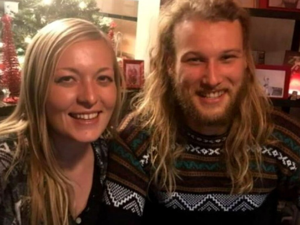 Lucas Fowler and his girlfriend Chynna Deese are the victims of a homicide currently under investigation from the Royal Canadian Mounted Police. Picture: Supplied