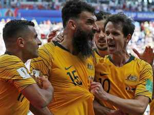 Socceroos swap at Victory to mark new era