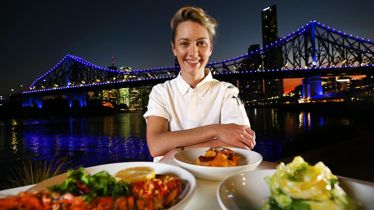 Chef Alanna Sapwell from Arc Dining is Queensland's best chef. Photo: Adam Head