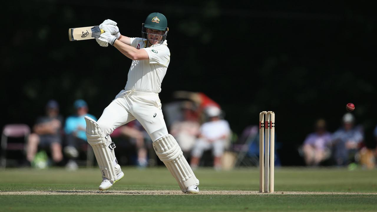 Marcus Harris is one of a number of left-handed batsmen vying for places in Australia's squad.