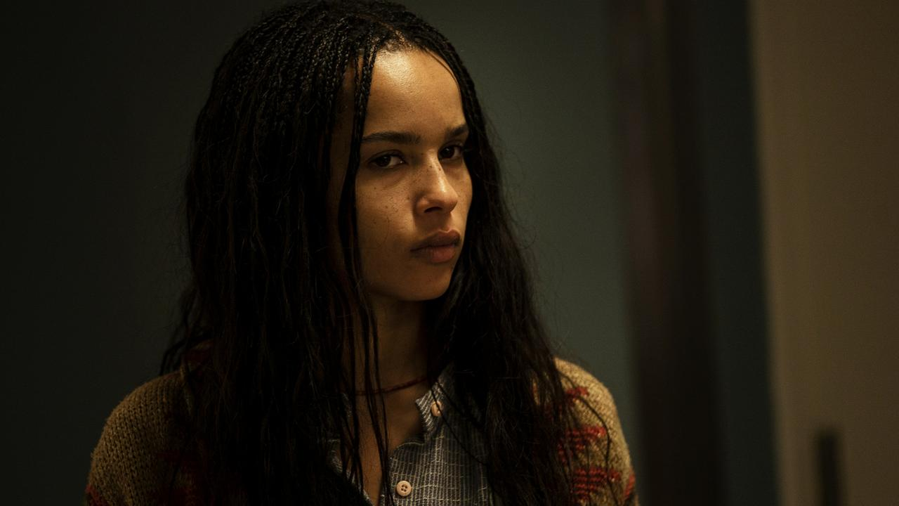 Zoe Kravitz in a scene from the final episode of season two of HBO drama series, Big Little Lies.