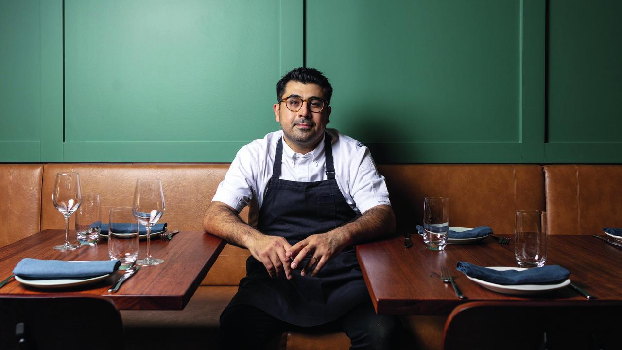 Chef Alex Munoz Labart at Regional Restaurant of the Year Restaurant Labart in Burleigh Heads. Picture: Jeff Camden