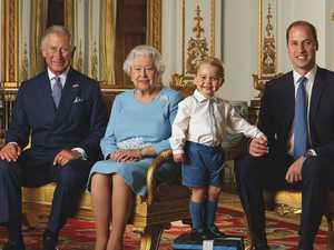 Queen's sweet gesture for George
