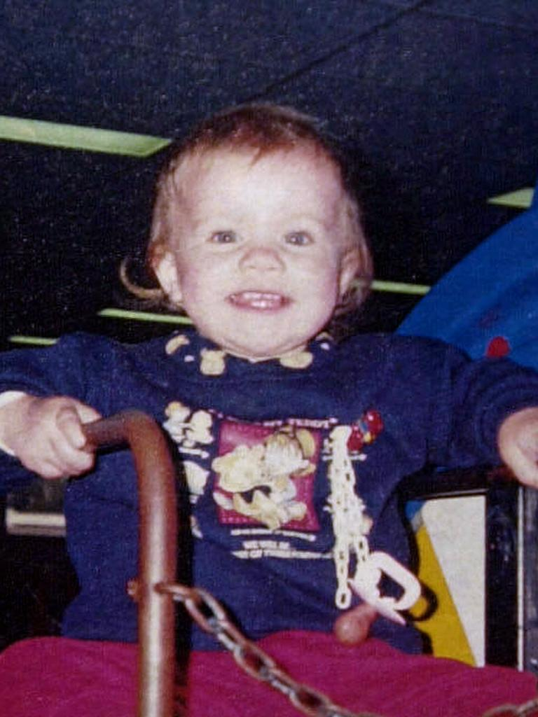 And Laura Folbigg was killed at 19 months in 1999.