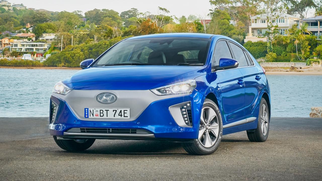 The Hyundai Ioniq is the most affordable electric car.