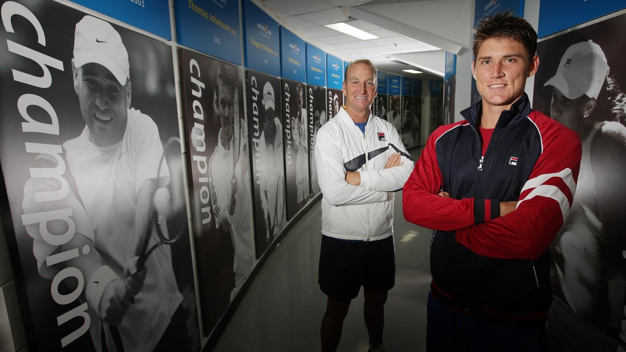 Peter McNamara coached Aussie Matt Ebden.