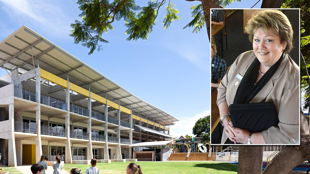 Clayfield College principal Kathy Bishop has resigned.
