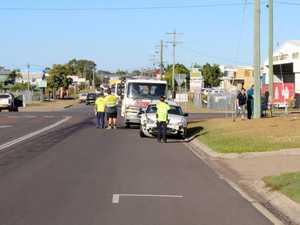 BREAKING: Three car crash in Pialba