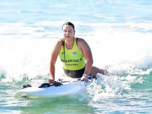 Surf Life Saving Queensland (SLSQ) lifeguards from